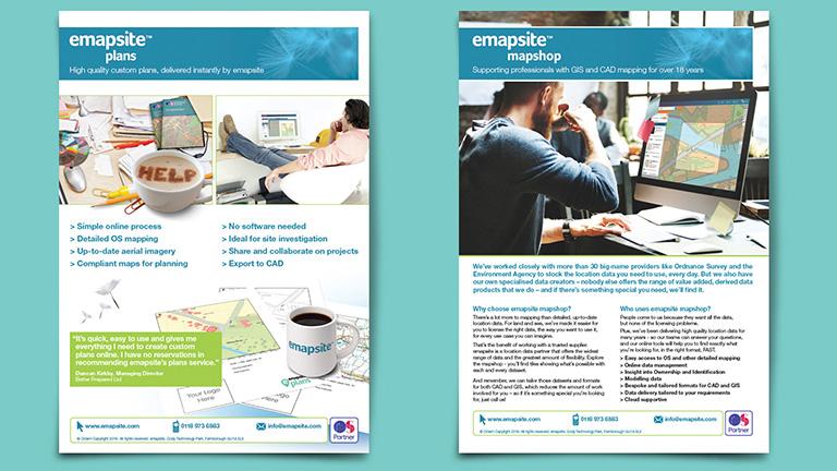 emapsite A4 Leaflets