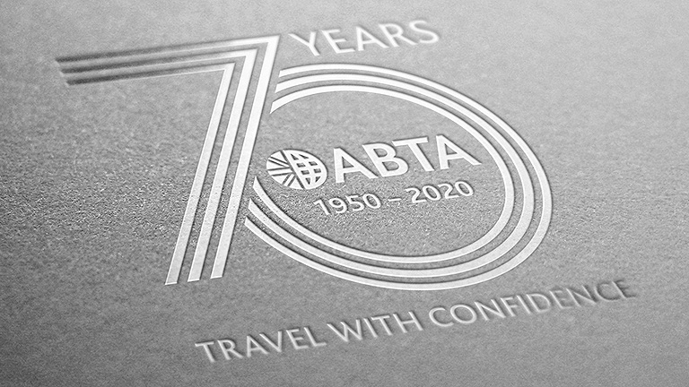 ABTA 70th Year Logo