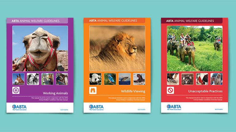 ABTA Animal Welfare Guides Covers