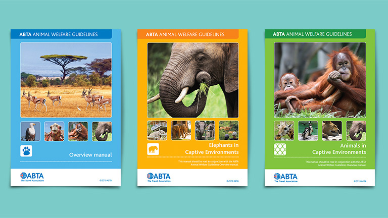 ABTA Animal Welfare Guides Covers