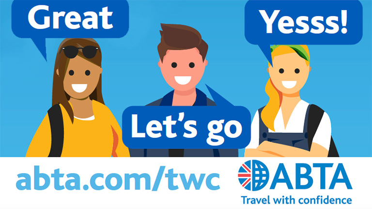 ABTA Safe Holidays Advert