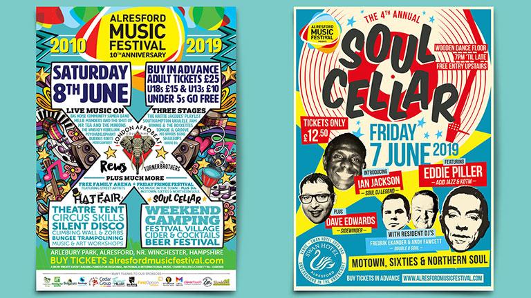 Alresford Music Festival Posters