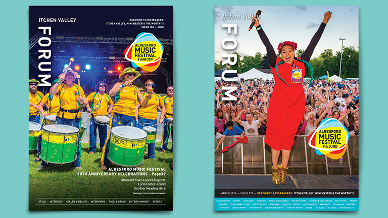 Alresford Music Festival Covers