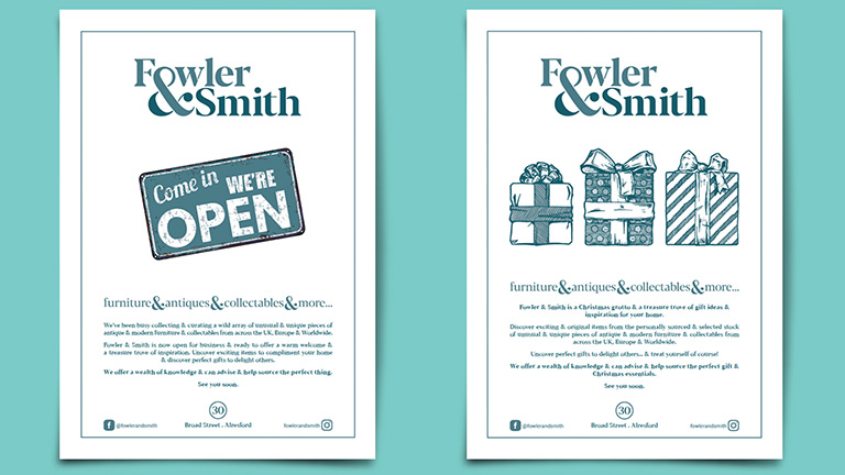 Fowler & Smith Advertisements