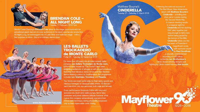 Mayflower Theatre Dance Mailer