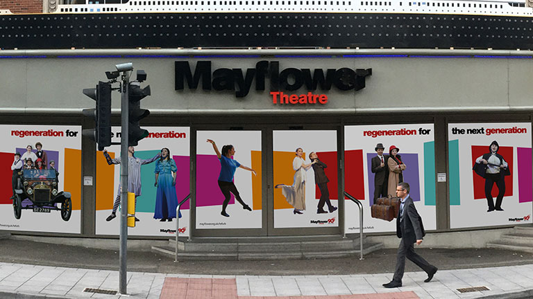 Mayflower Theatre Regeneration for the Next Generation