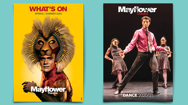 Mayflower Theatre What's On and Dance Brochures