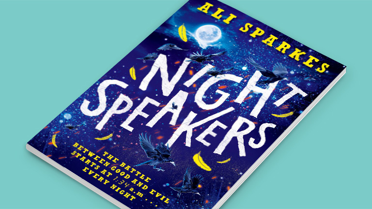 Ali Sparkes Night Speakers Book Cover