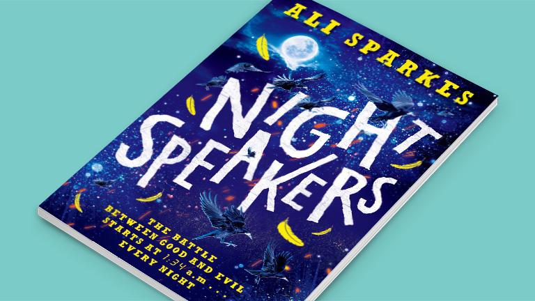 Ali Sparkes Night Speakers Book Cover