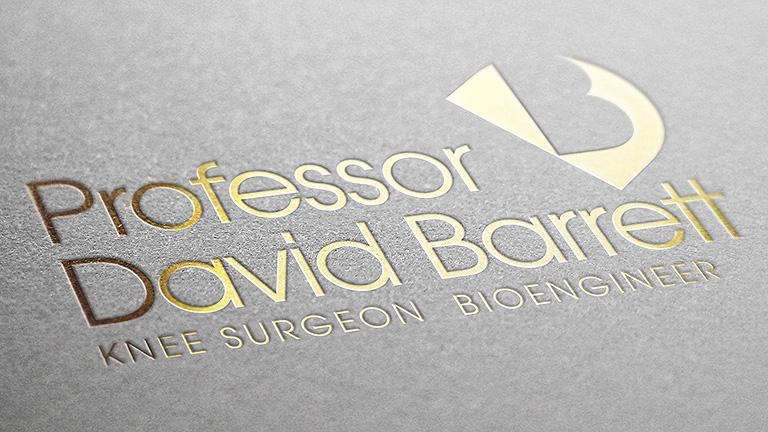 Professor David Barratt Logo