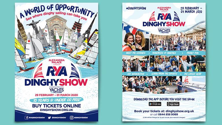 RYA Dinghy Show A5 Leaflets