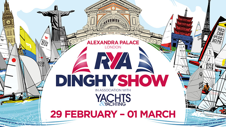 RYA Dinghy Show Online Adverts