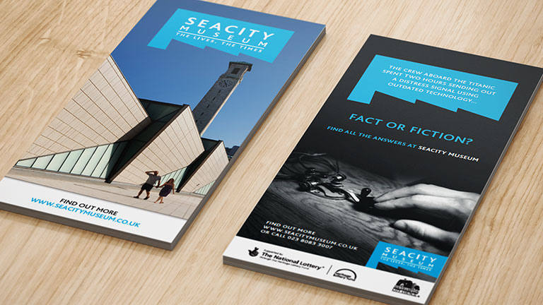 SeaCity Museum DL Leaflets