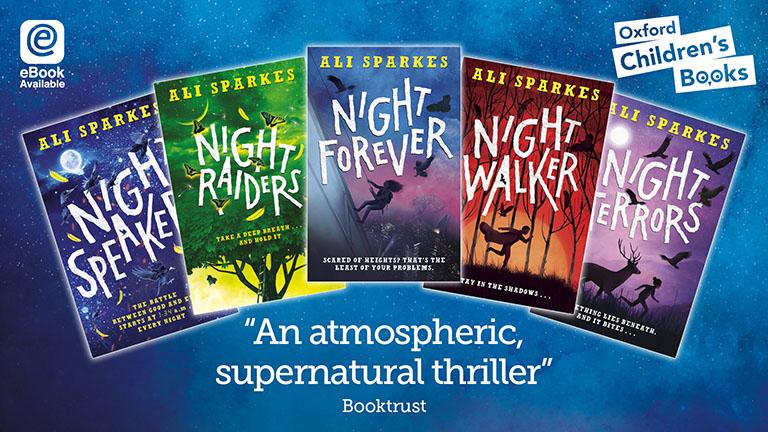 Ali Sparkes Night Series Books